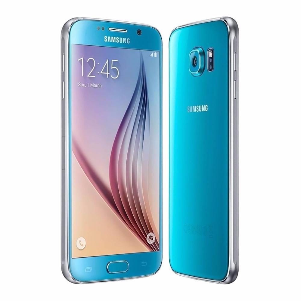 Samsung Galaxy S6 hellblau