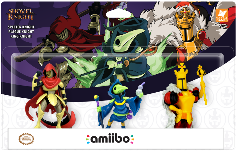 Shovel Knight King of Cards und Amiibo-Dreierpack im Dezember 1