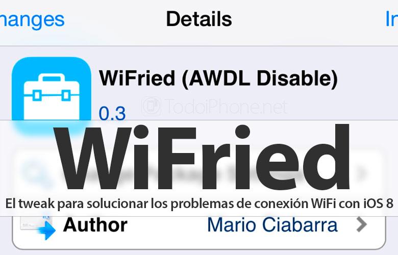 So beheben Sie Probleme mit der WLAN-Verbindung in iOS 8 mit WiFried 1