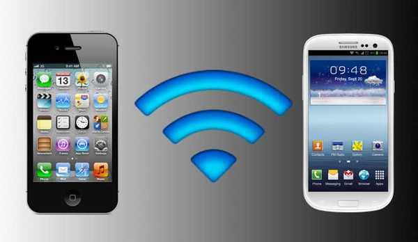 tragbare WiFi-Zone