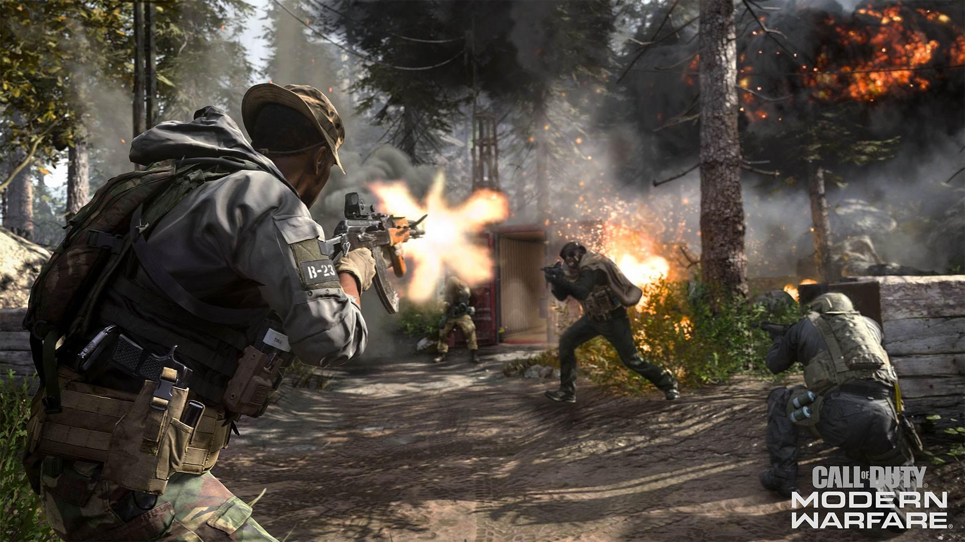 """So hektisch ist der Multiplayer von """"Call of Duty: Modern Warfare"""" 1"""