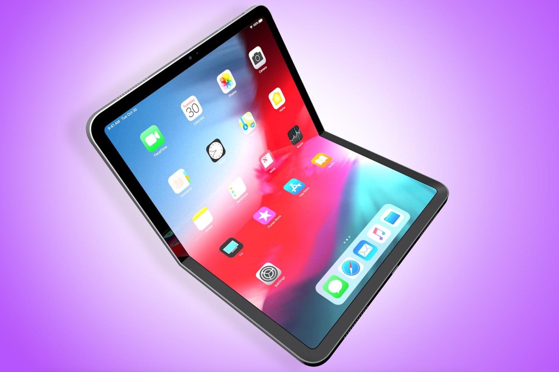 Ein grobes Sun Online-Modell, wie ein faltbares iPad aussehen könnte