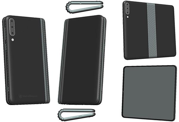 TCLs klappbares Smartphone-Tablet: Bilder aus dem in China eingereichten Patent