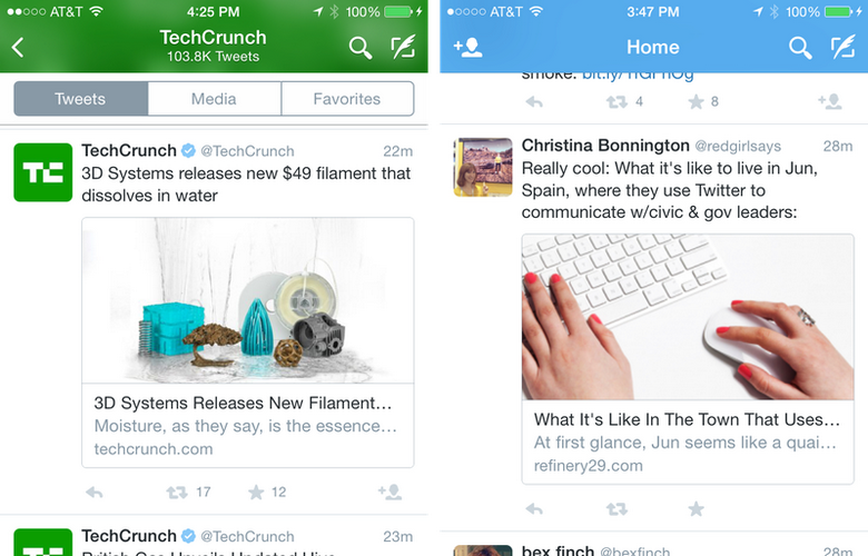 Twitter für iOS wurde mit neuen Funktionen aktualisiert 2