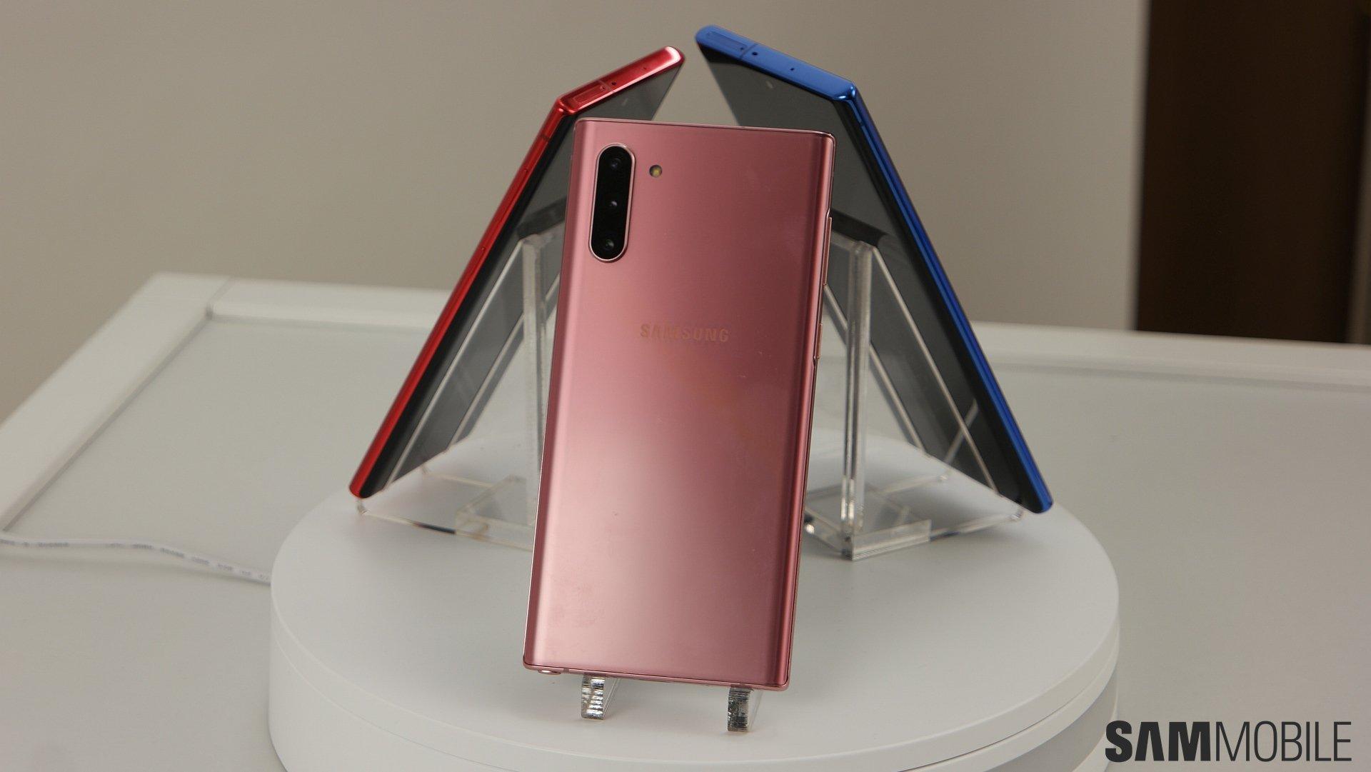 [Video] Galaxy Note  10 /Note 10 Plus zum Anfassen: Samsungs 1-2 Schlag 1