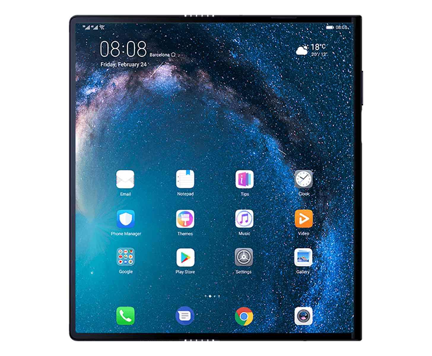 Warten Sie auf das Huawei Mate X?
