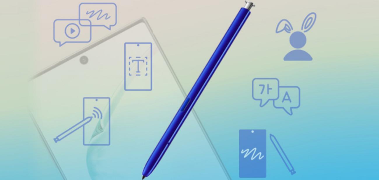 S Pen del Galaxy Note 10 y del Galaxy Note 10 Plus