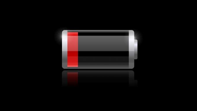 Header der Telefonbatteriestange