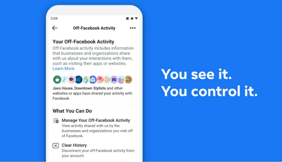 Wie benutzt man Off-Facebook Aktivitätsfunktion zur Kontrolle Ihrer Daten 1