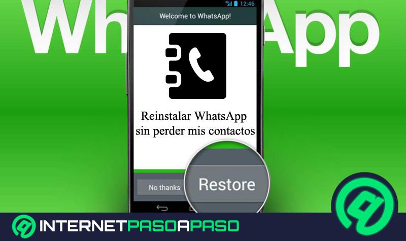 1️⃣ Wie kann ich die WhatsApp neu installieren, ohne meine