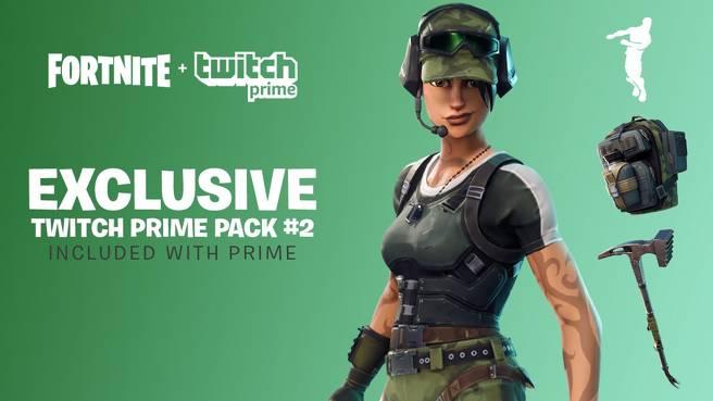 Wie man das Freie beansprucht Fortnite Twitch  Prime Pack 2 Beute und Haut 1