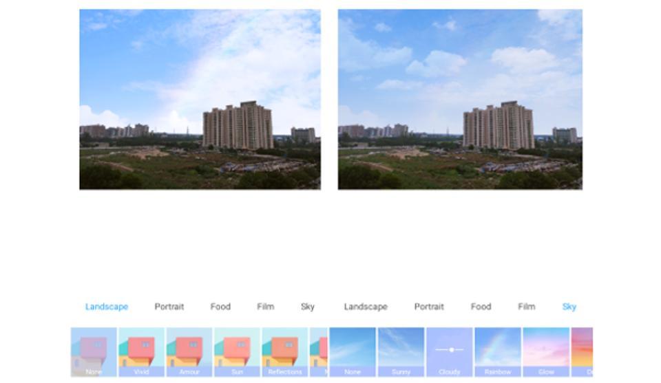 Xiaomi Redmi K20 Pro: So verwenden Sie die beliebte Sky-Ersatzkamera-Funktion 1