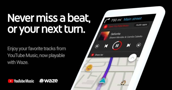 YouTube Musik jetzt in der Waze-App verfügbar 1