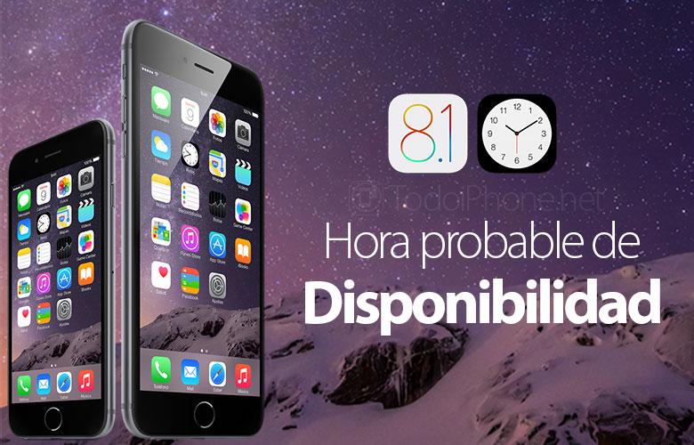 Zeitpunkt, zu dem iOS 8.1 in den wichtigsten Ländern der Welt verfügbar sein könnte 1