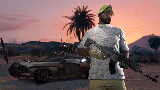 GTA Online Silah Yarışı 4 0
