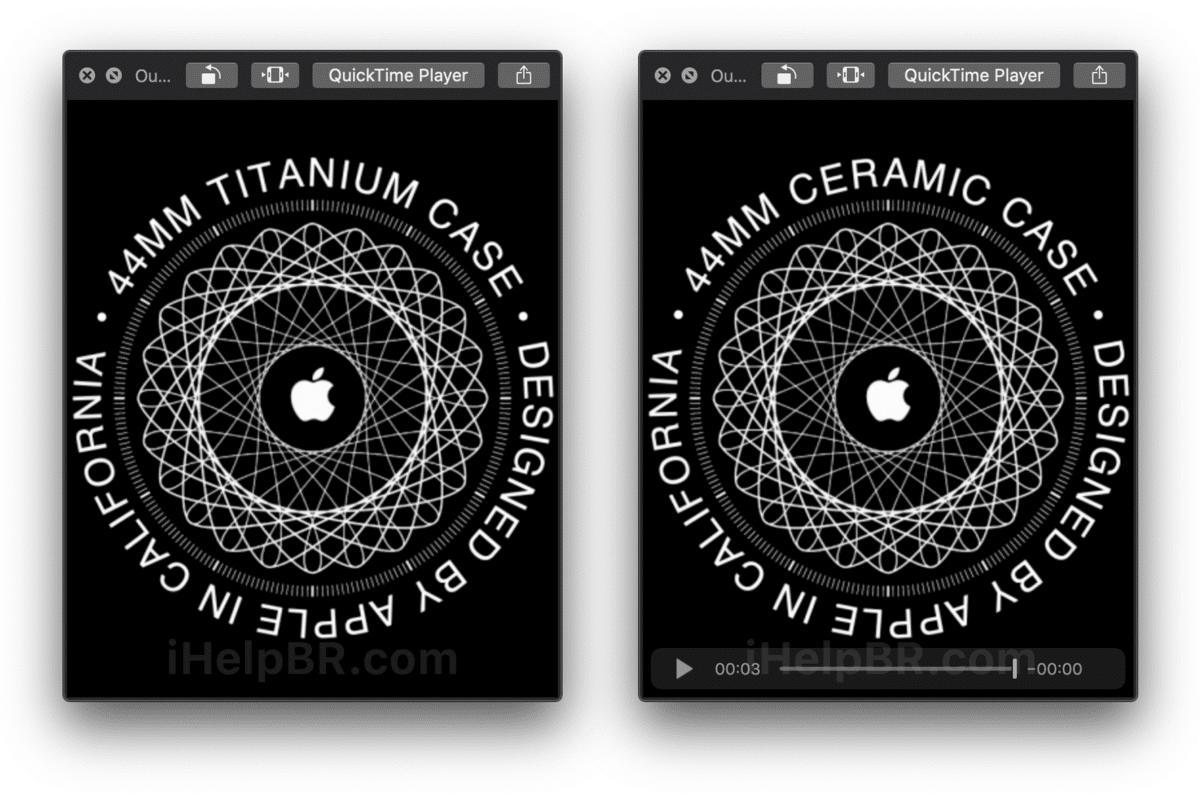 watchOS 6 bestätigt neue Gehäuseoptionen für Titan und Keramik für Apple Watch