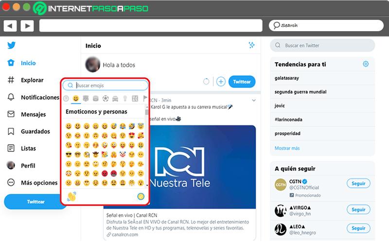 Fügen Sie Ihren Tweets Emojis hinzu