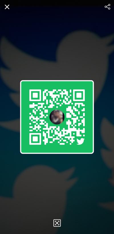 Teile dein Profil mit einem QR-Code