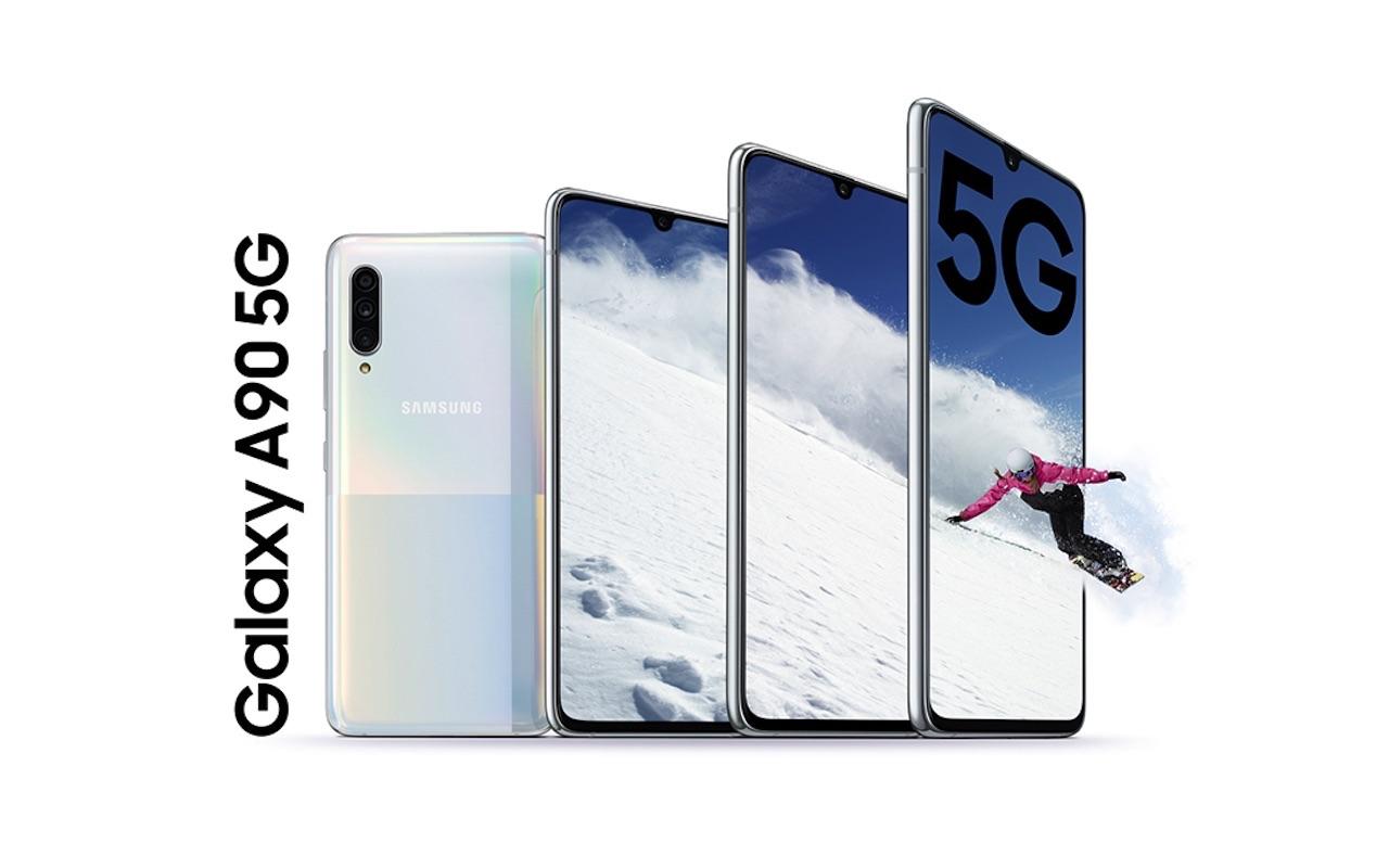 Samsung Galaxy A90 5G Market