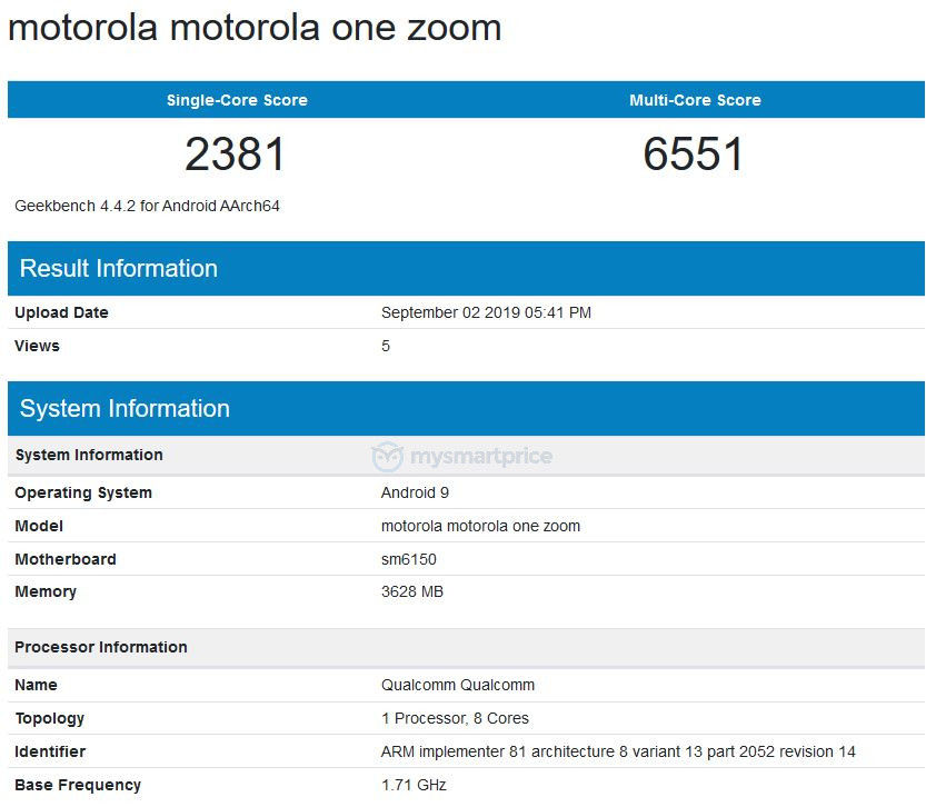"""motorola one zoom geekbench """"width ="""" 833 """"height ="""" 726 """"srcset ="""" https://assets.mspimages.in/wp-content/uploads/2019/09/motorola-one-zoom-geekbench.jpg 833w, https : //assets.mspimages.in/wp-content/uploads/2019/09/motorola-one-zoom-geekbench-300x261.jpg 300w, https://assets.mspimages.in/wp-content/uploads/2019/ 09 / motorola-one-zoom-geekbench-768x669.jpg 768w, https://assets.mspimages.in/wp-content/uploads/2019/09/motorola-one-zoom-geekbench-696x607.jpg 696w, https: //assets.mspimages.in/wp-content/uploads/2019/09/motorola-one-zoom-geekbench-482x420.jpg 482w, https://assets.mspimages.in/wp-content/uploads/2019/09 /motorola-one-zoom-geekbench-50x44.jpg 50w """"sizes ="""" (maximale Breite: 833px) 100vw, 833px"""