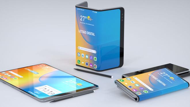 LG wird auf der IFA 2019 möglicherweise sein Dual-Folding-Smartphone mit Eingabestift vorstellen 3
