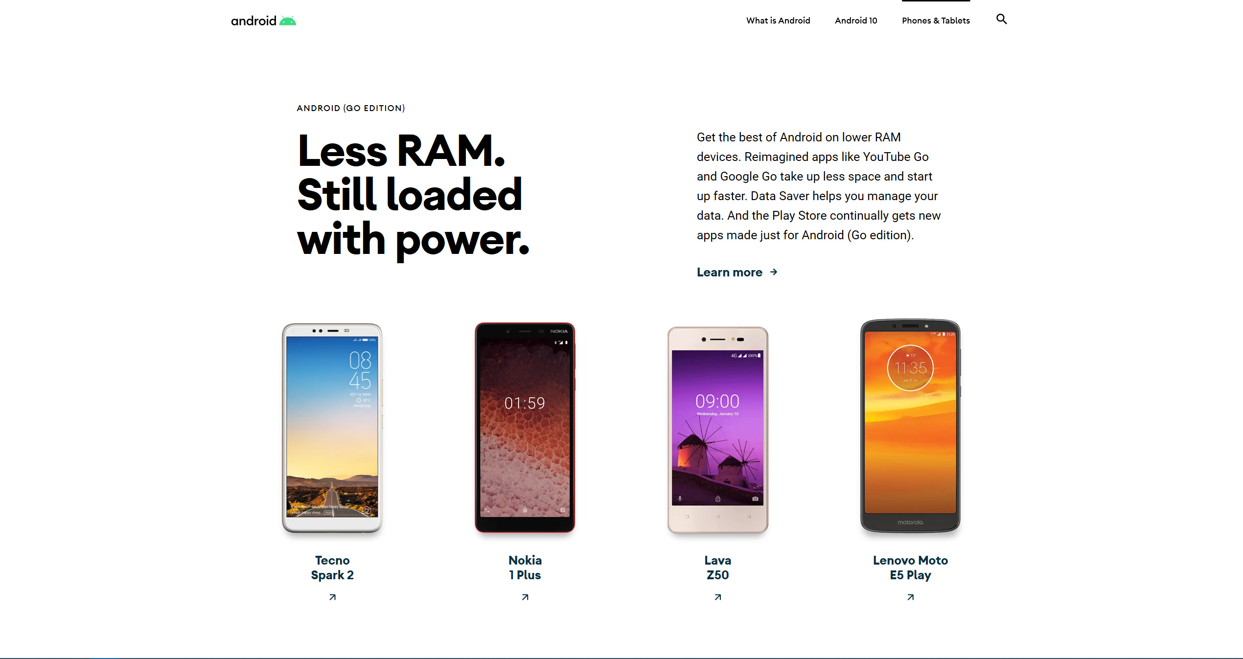 Mit der Einführung von Android 10 wird die Android-Website für das Biest erneuert 5