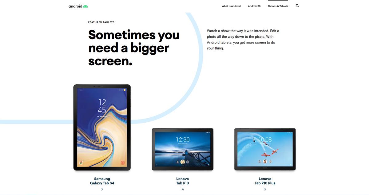 Mit der Einführung von Android 10 wird die Android-Website für das Biest erneuert 6
