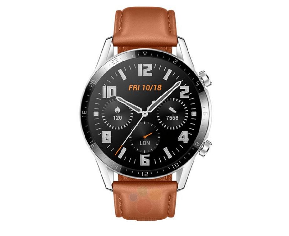 Huawei bereitet die Einführung der Watch GT2 Smartwatch vor: dünnere Lünette, größeres Display und größerer Akku 1