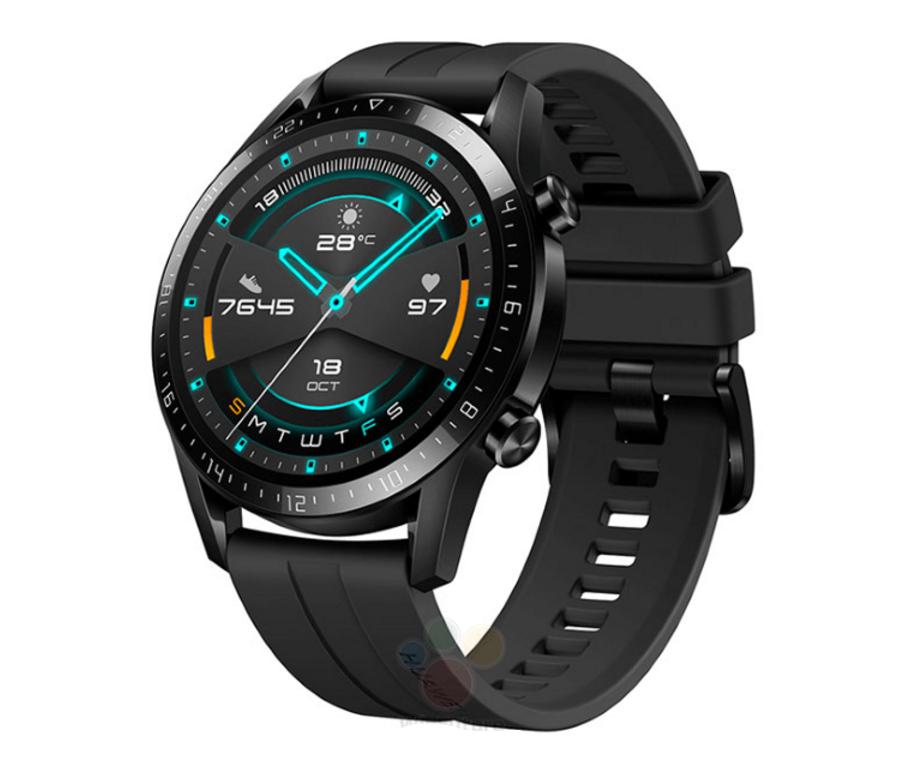 Huawei bereitet die Einführung der Watch GT2 Smartwatch vor: dünnere Lünette, größeres Display und größerer Akku 2