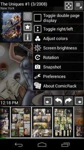 ComicRack Free screen1