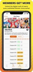 Shonen Jump Manga-Bildschirm
