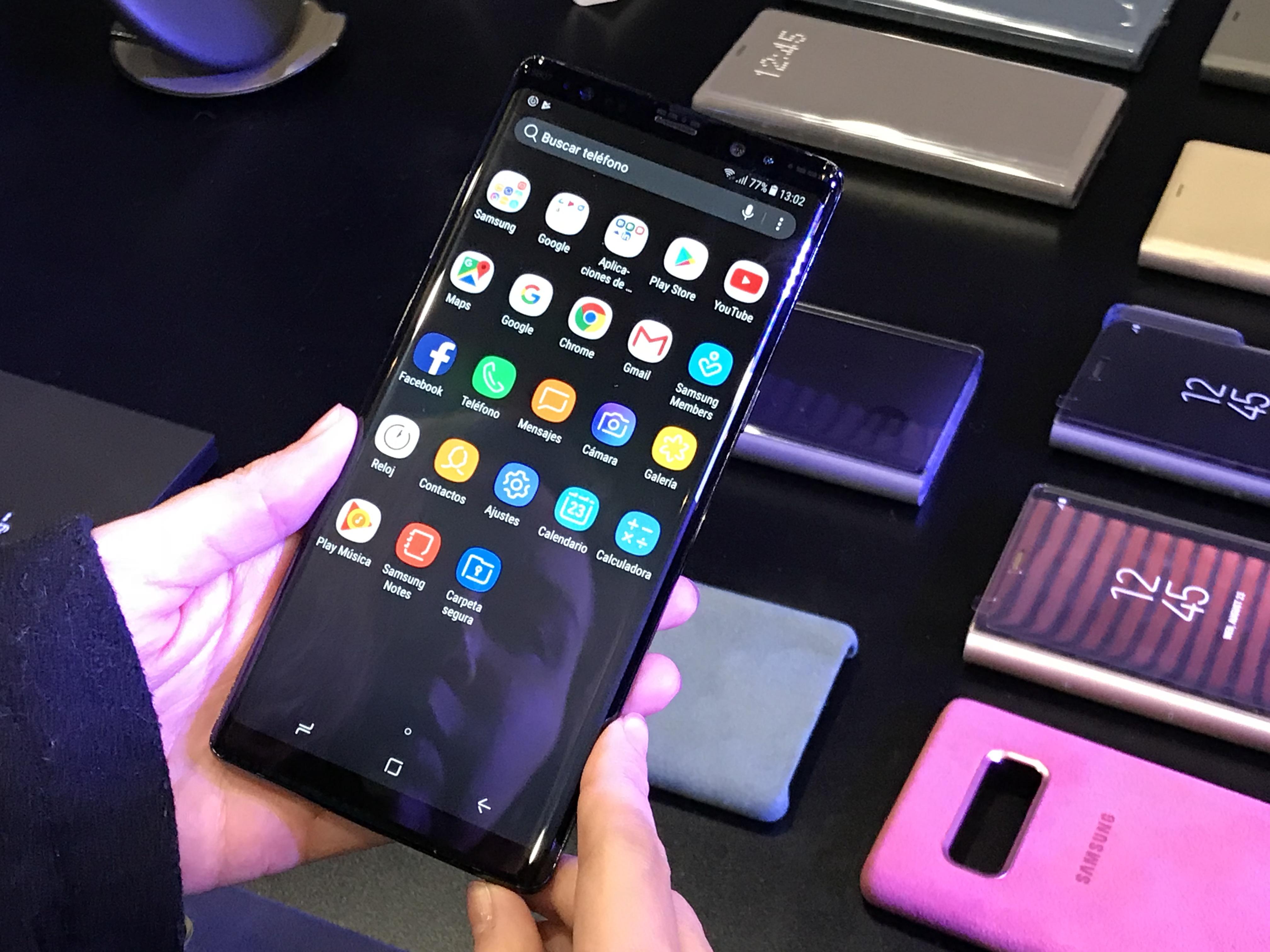 Samsungs erste Eindrücke Galaxy Note  8 2