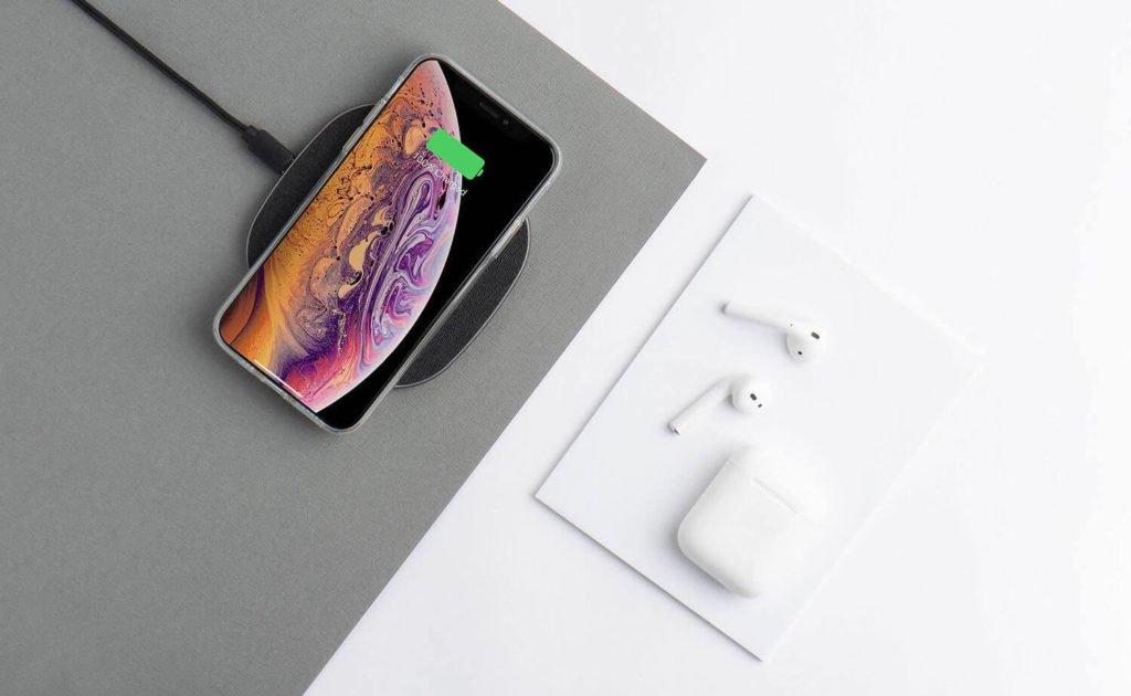 totallee Wireless Charger Dünnes Ladegerät