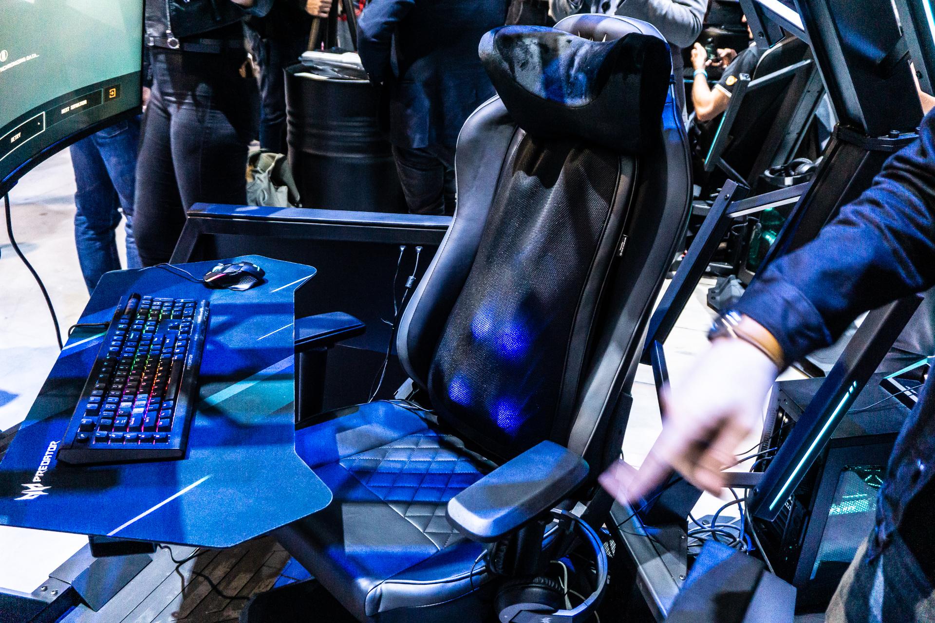 Ich habe mir für 55.000 PLN einen Stuhl für einen Spieler massieren lassen. Predator Thronos Air ist eine der Überraschungen der IFA 2019 2