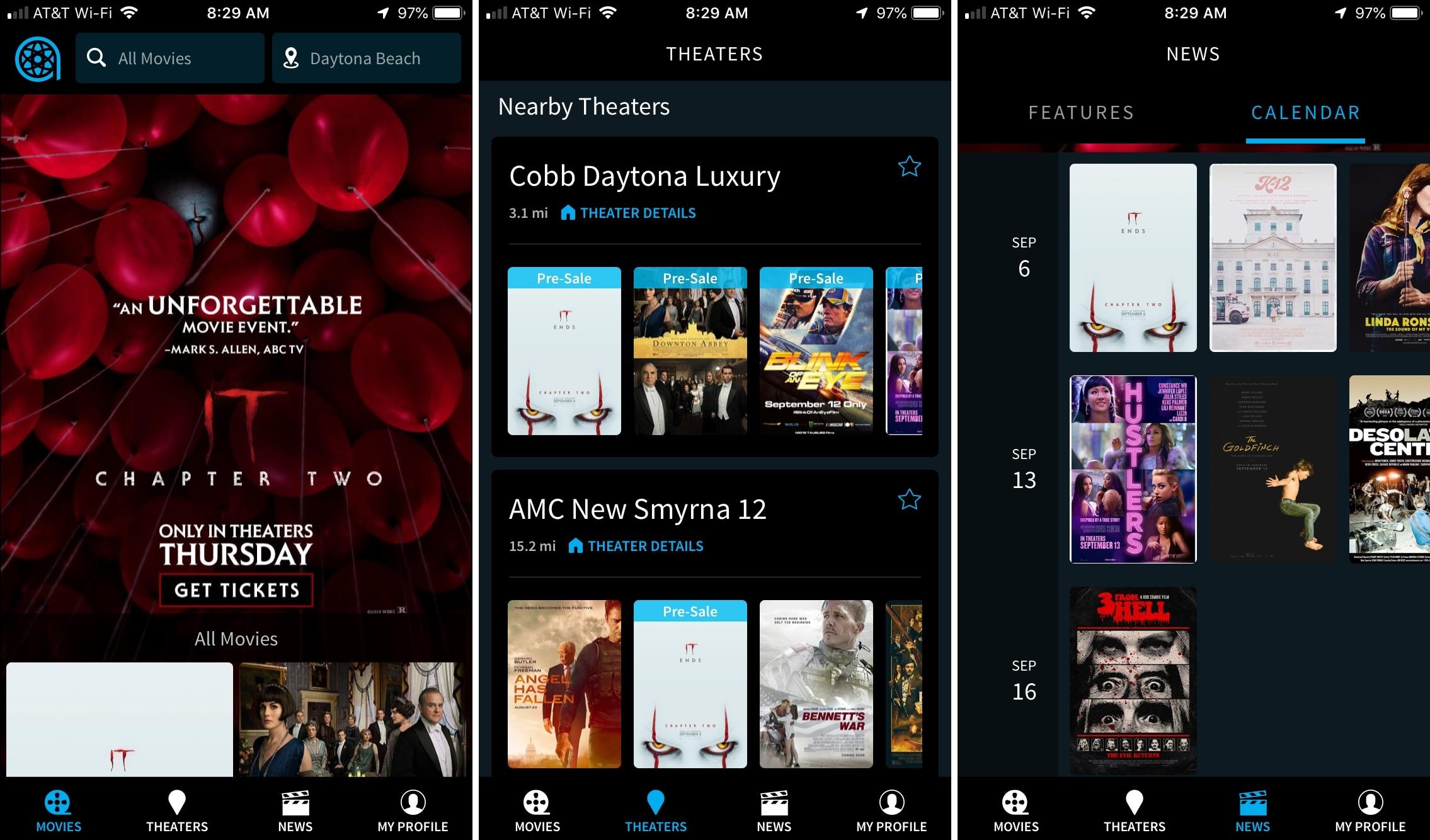 Atom App für das iPhone