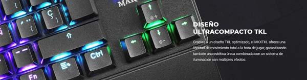Yeni Mars Oyun MKXTKL klaviaturası 2
