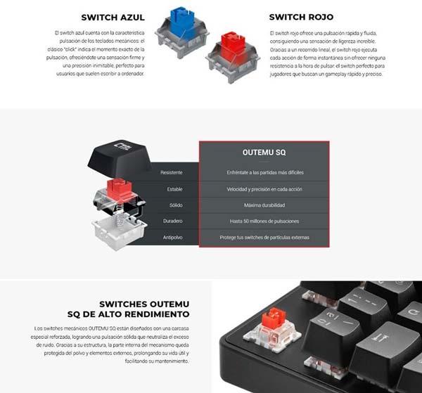 Yeni Mars Oyun MKXTKL klaviaturası 3
