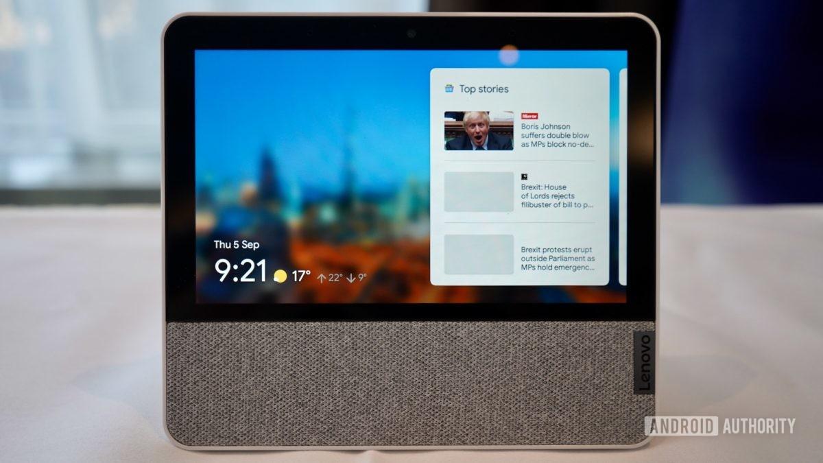 Vorderansicht des Lenovo Smart Display 7