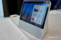 Lenovo Smart Display 7 rechtes Profil