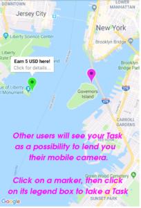 CamerLender: Holen Sie sich die Aufnahme, die Sie brauchen, oder machen Sie Fotos und verdienen Sie sich Belohnungen - Application Gratuite 6