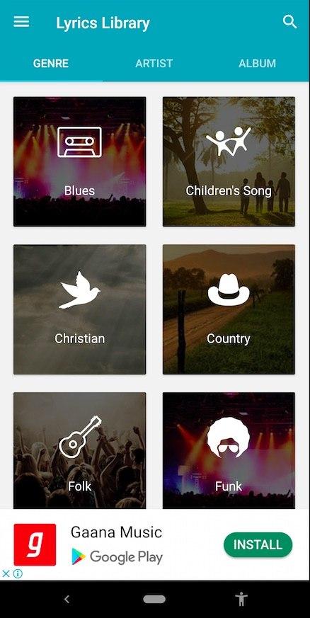 Musik Sucher App