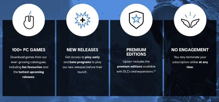 Versão de teste gratuita do Ubisoft Uplay