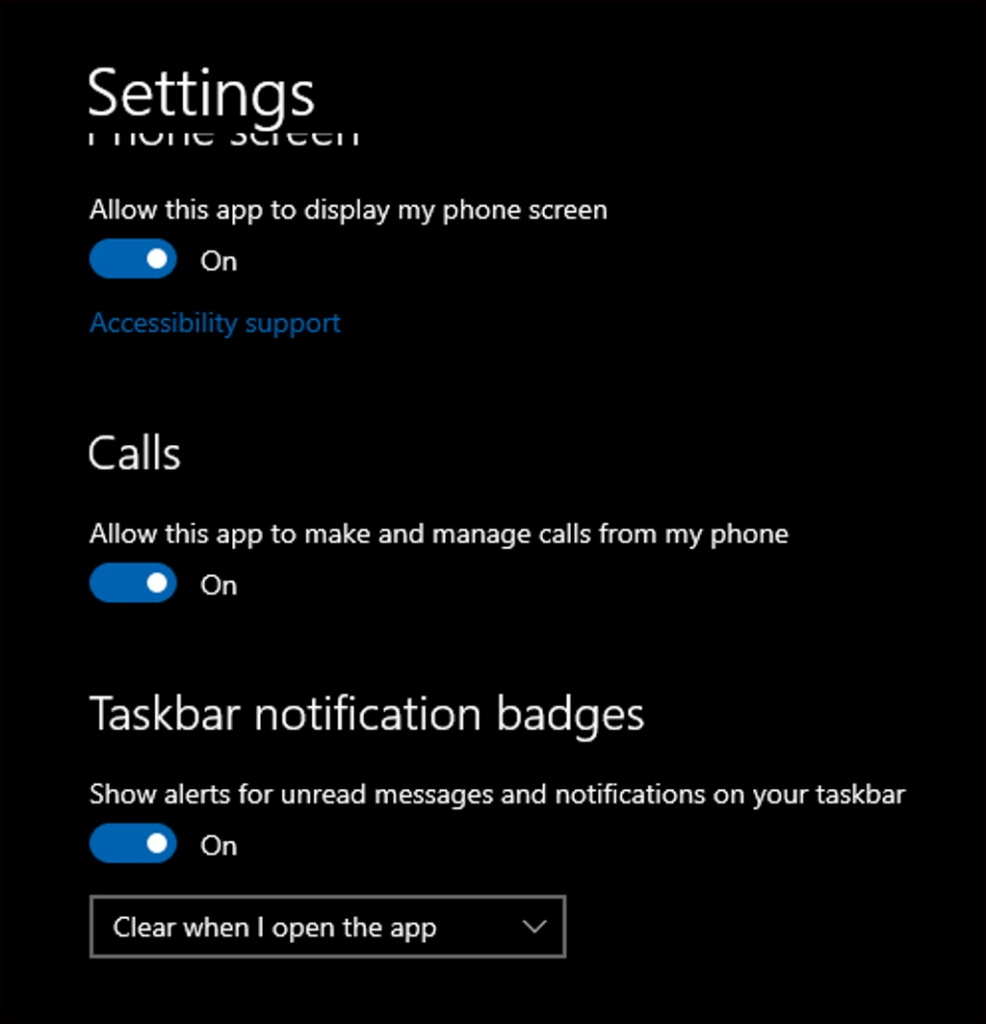 Windows  10 Microsoft Android Smartphone-Anrufe
