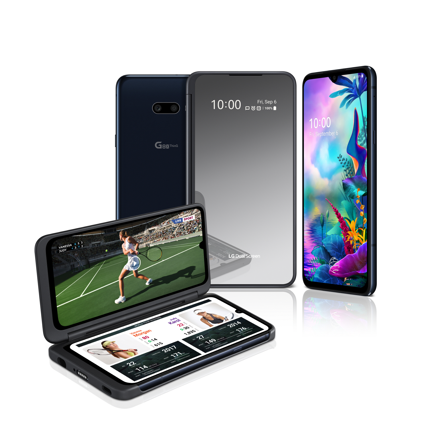 LG G8x Thinq und LG Dual Screen 01