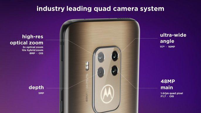 Motorola One Zoom und seine Quad-Kamera