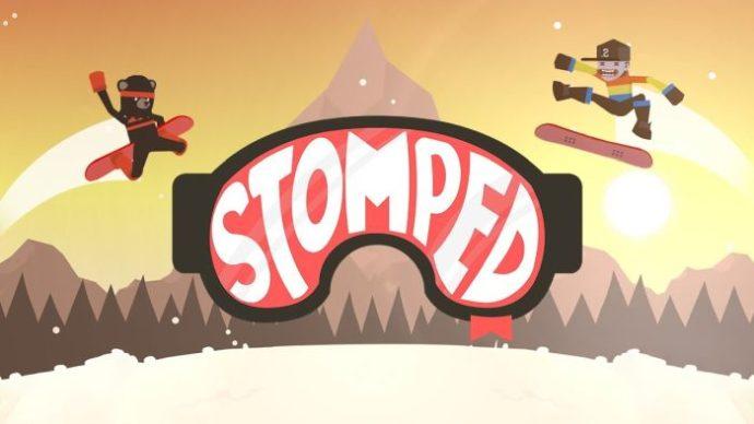 Snowboard Spiel Stomped! Jetzt verfügbar für iOS, Android 1