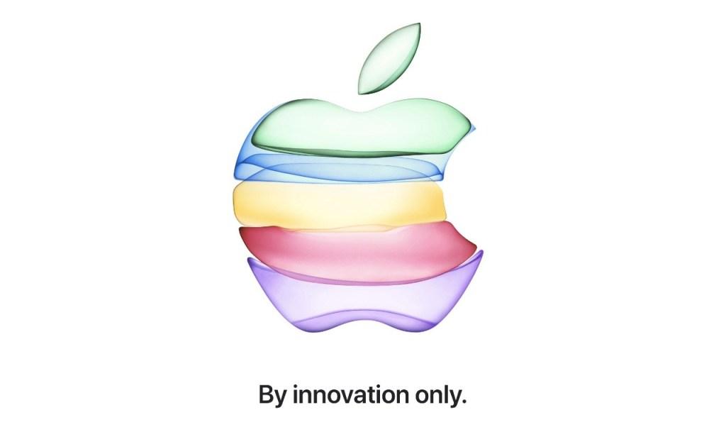 """Mit den Worten """"Nur durch Innovation"""" zeigte das Unternehmen, dass die Veranstaltung auf Innovationen ausgerichtet war."""