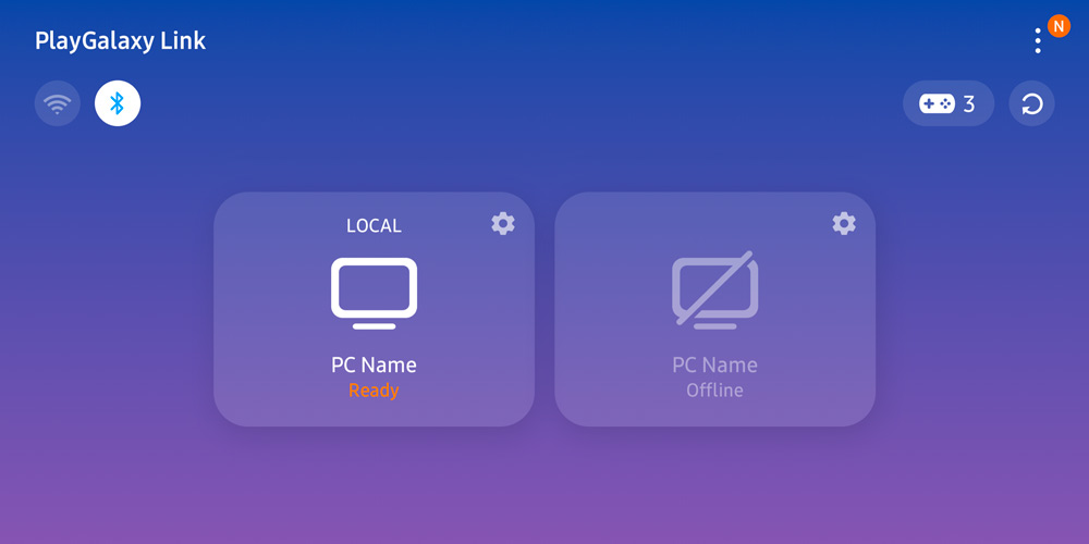 Verwenden Sie mit der neuen Play-App PC-Spiele auf Ihrem Samsung Galaxy Link 3