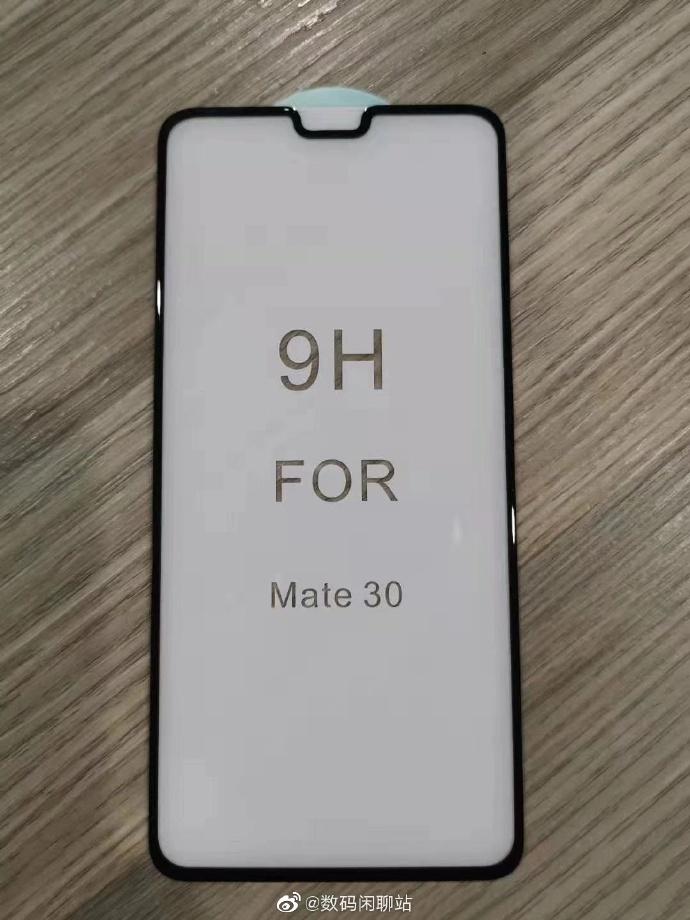 Das Huawei Mate 30 würde mit einer größeren Kerbe ankommen 2