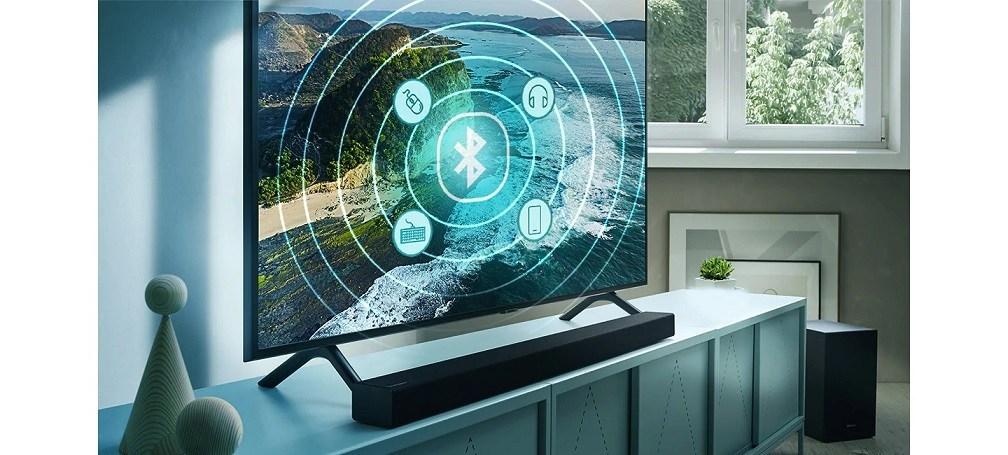 Sie können problemlos Kopfhörer, Tastaturen, Soundbars und andere Geräte über Bluetooth anschließen